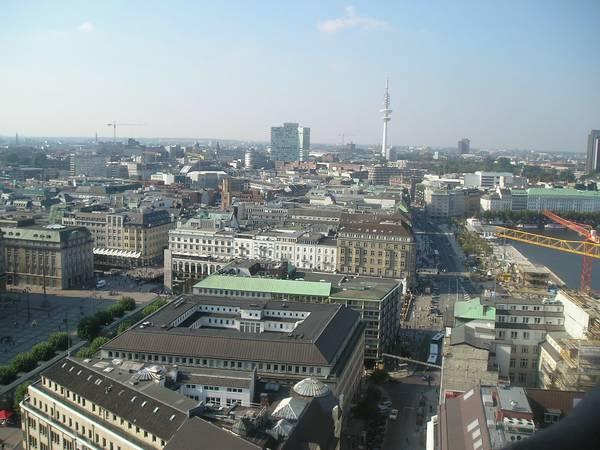 Foto Archiv Hamburg Hamburg Vom Turm Der Hauptkirche St