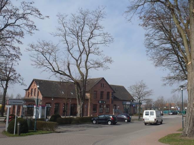 Bahnhof Löhne foto archiv lohne