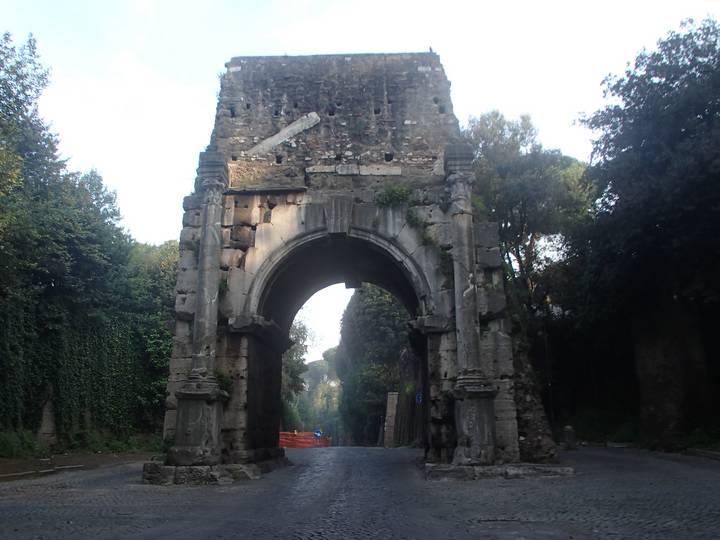 Foto archiv rom via appia antica elch on tour - Via di porta ardeatina ...
