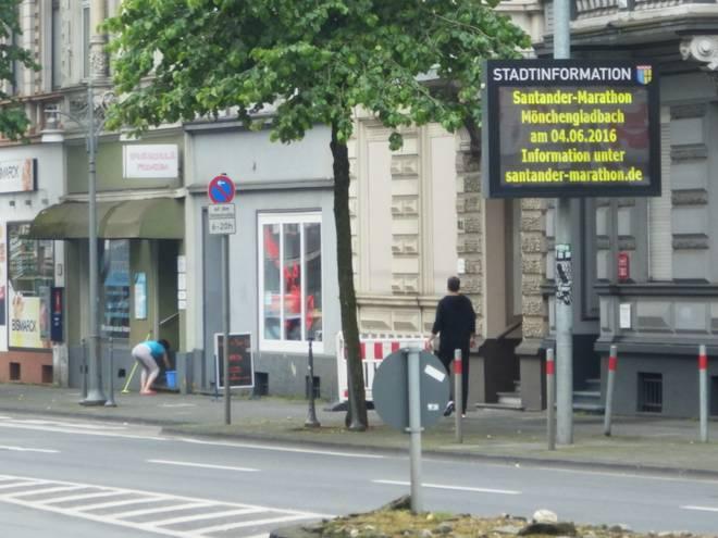 Bismarckstraße Mönchengladbach 1 santander marathon mönchengladbach 2016